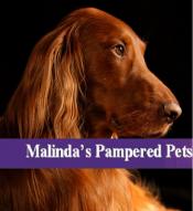 Logo for Malinda's Pampered Pets