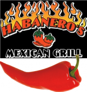 Logo for Habanero's Mexican Grill