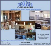 Logo for Designer Cabinet Refinishing