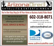 Logo for Arizona Direct Satellite Entertainment
