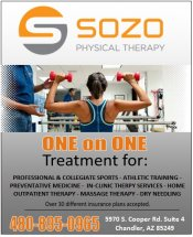 Logo for SOZO Physical Therapy