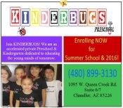 Logo for Kinderbugs