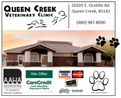 Logo for Queen Creek Veterinary Clinic
