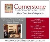 Logo for Cornerstone Chiropractic and Wellness